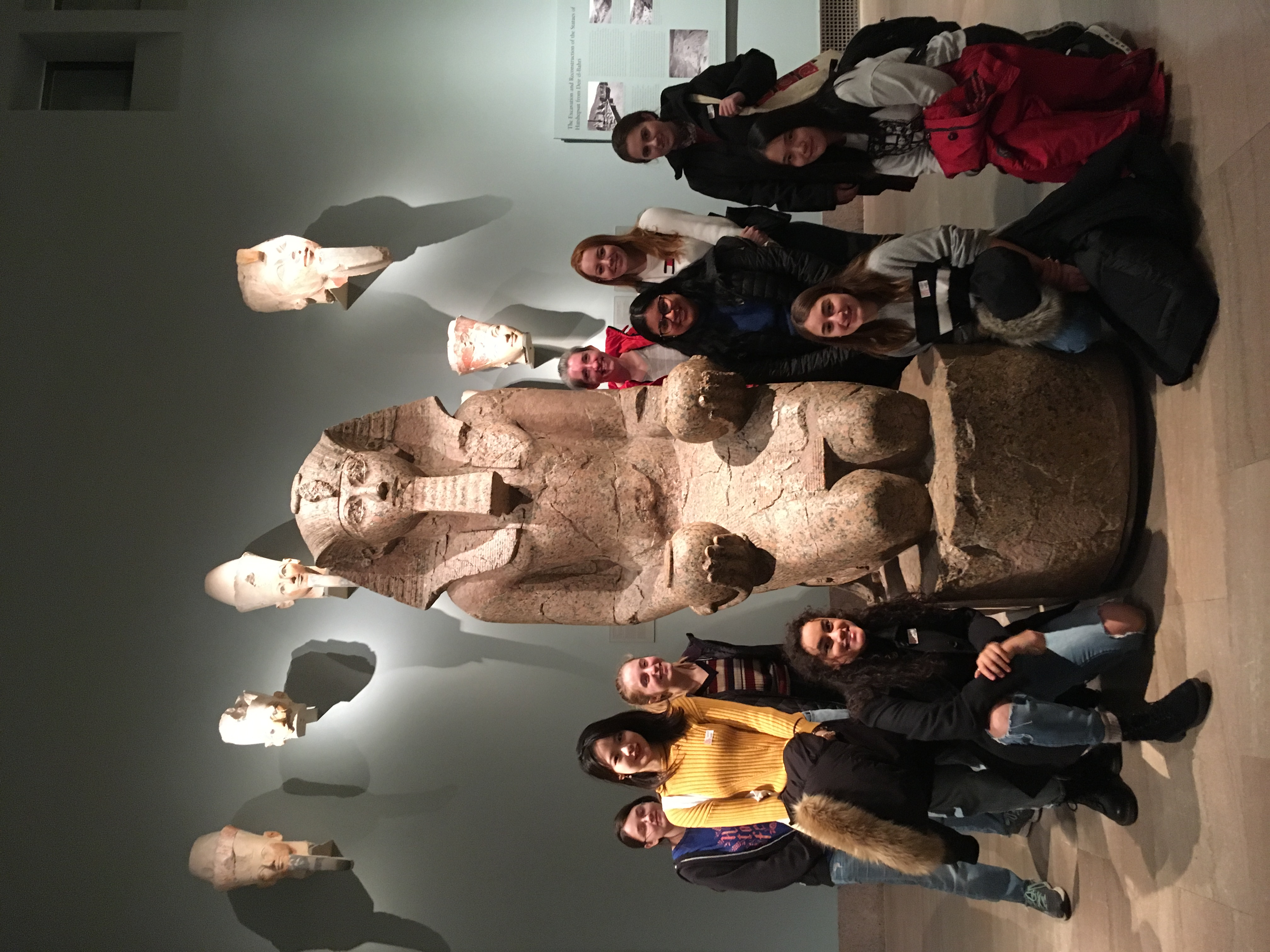 Class trip to the Met